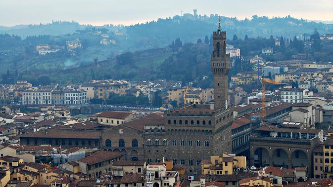 Palazzo Vecchio, Florence, Italia. (aleph78/Flickr)