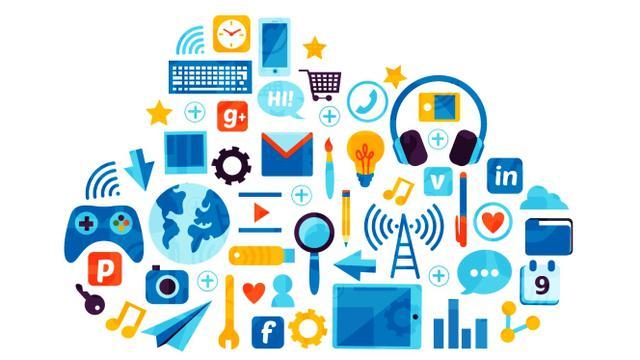 Ilustrasi Startup, Perusahaan Teknologi, Cloud, Komputasi Awan