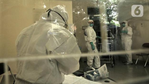 Mengintip Ruang Isolasi Pasien Virus Corona di RSUP Persahabatan