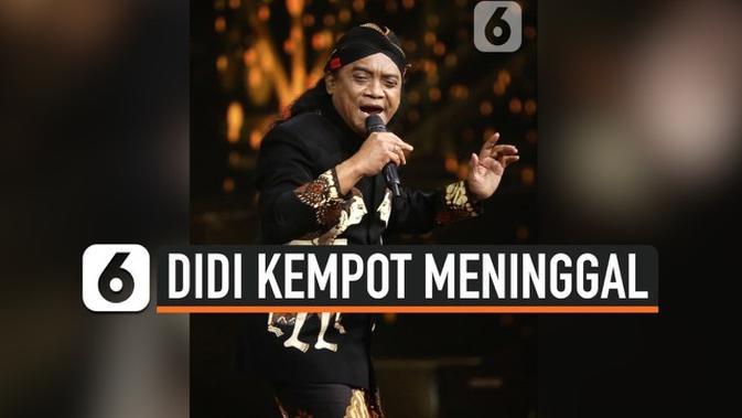 Video Didi Kempot Meninggal Sobat Ambyar Berduka Trending