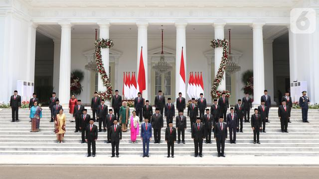 Pelantikan Menteri Kabinet Indonesia Maju