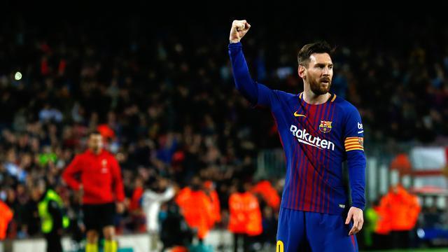 Hattrick Messi Kokohkan Barcelona di Puncak Klasemen La Liga