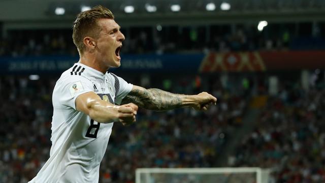 FOTO: Sensasi Gol Injury Time yang Banyak Terjadi di Piala Dunia 2018