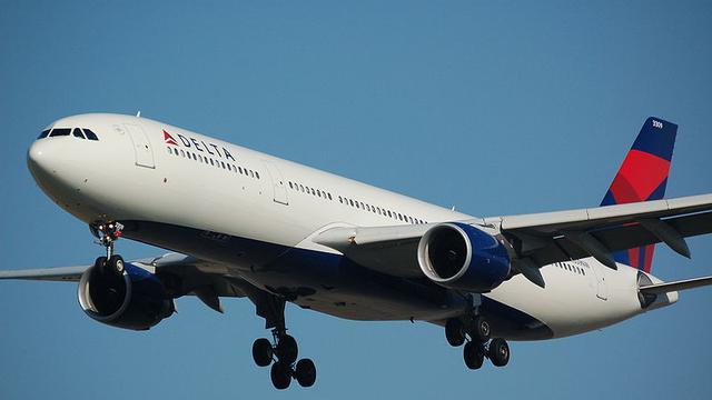 Ilustrasi Delta Airlines