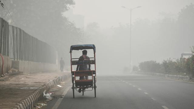Kabut Asap Beracun Kepung New Delhi