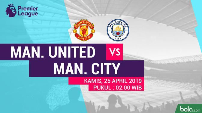 Premier League - Manchester United Vs Manchester City (Bola.com/Adreanus Titus)
