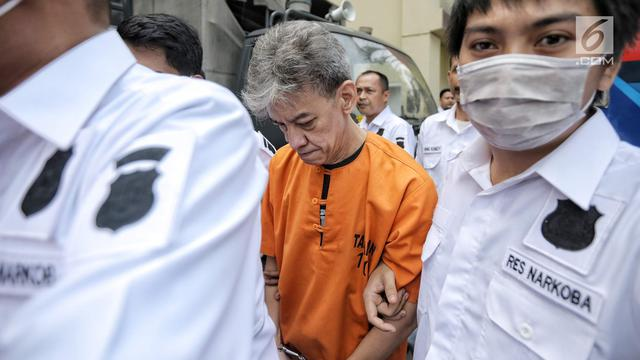 Ditangkap Lagi, Begini Ekspresi Fariz RM di Polres Jakarta Utara