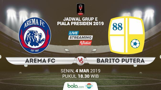 Live Streaming Piala Presiden 2019 Di Indosiar Arema Fc