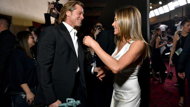 Brad Pitt dan Jennifer Aniston