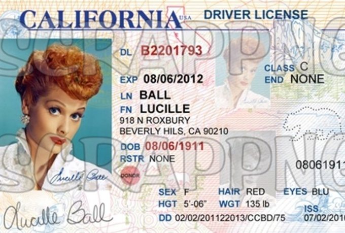 California Id Template Download  car bill of sale form fill online