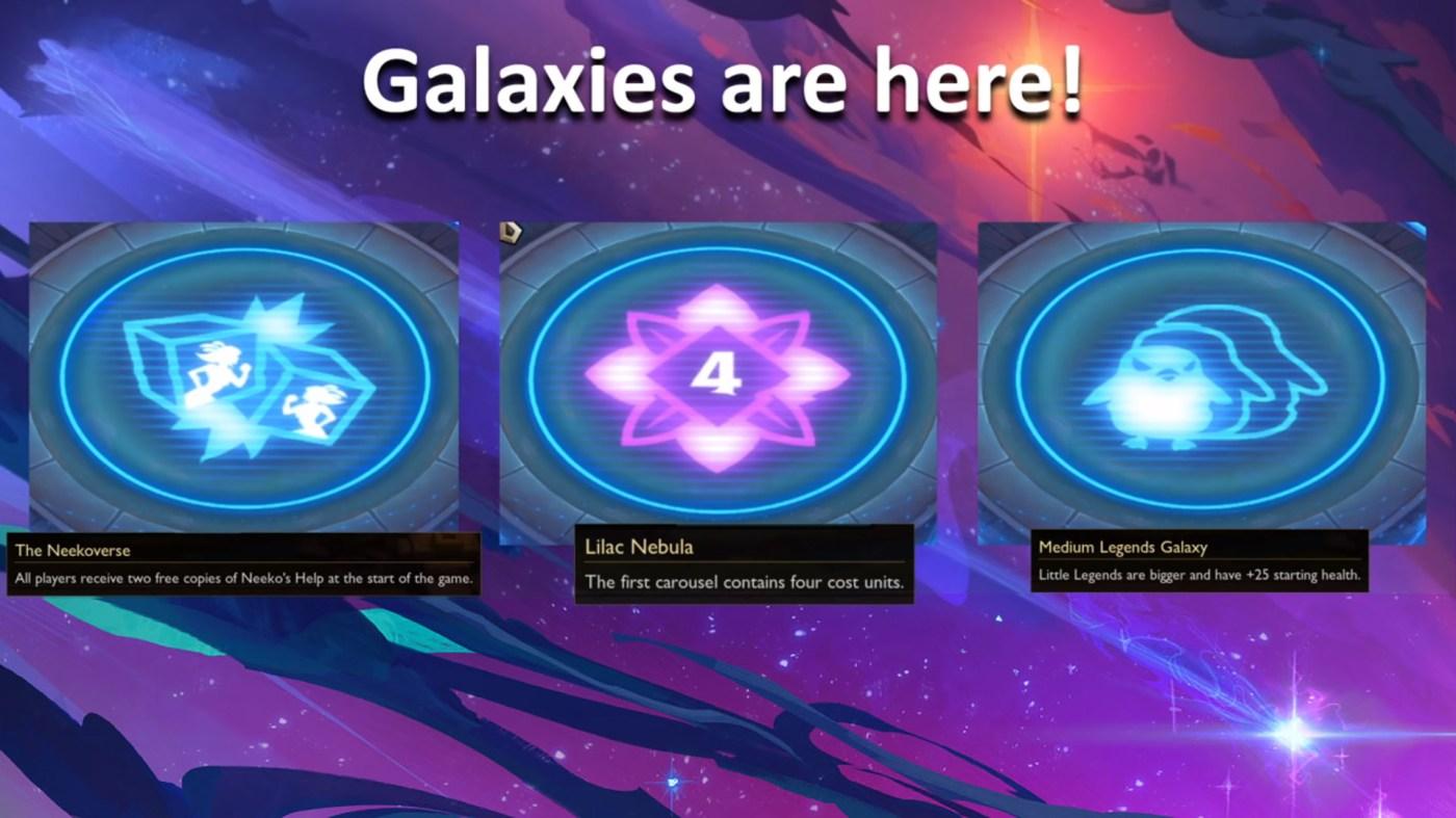 TFT-Patch 10.7: Galaxien kommen, Nerfs für Tier-5-Units und mehr
