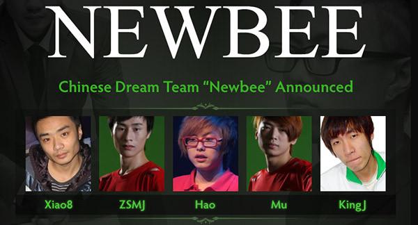 Xiao8 And Hao Form Team Newbee News