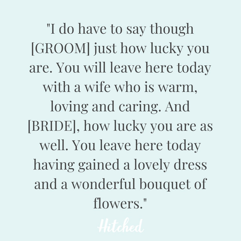 33 Genuinely Funny Best Man Speech Jokes Hitched Co Uk