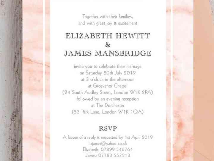 Wedding Stationery And Wording Ideas Hitched Co Uk