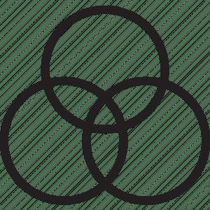 Diagram, venn icon