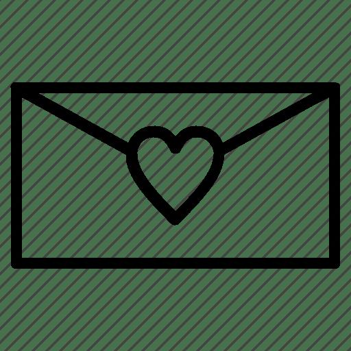 envelope invitation love mail wedding icon download on iconfinder