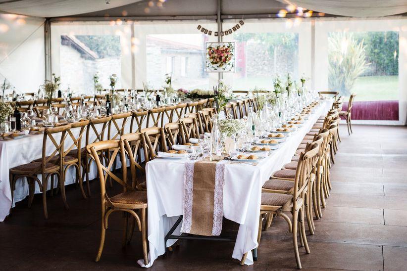 decoration des tables de mariage rectangulaires sebastien ben duc kieng