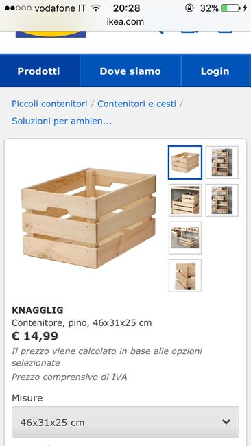 Cassette Di Legno Colorate Ikea