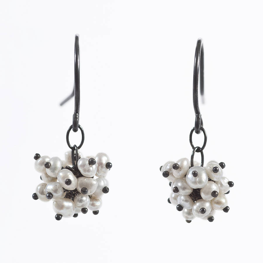 pearl pompom jewellery