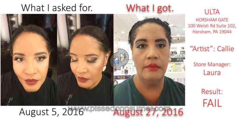 Ulta Salon Makeup Application Review