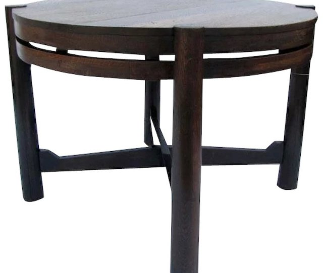 Antique Gustav Stickley Table Tobey Chicago W Very Early Rare