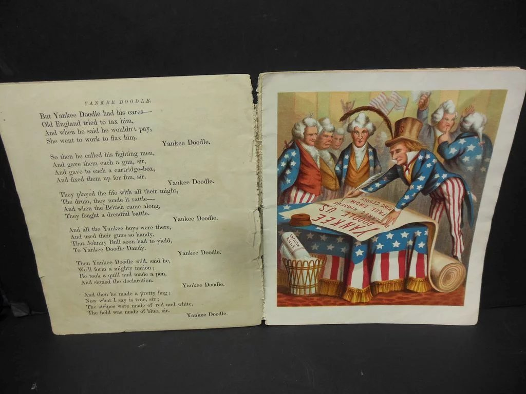 Mcloughlin Bros Yankee Doodle Children S Book The
