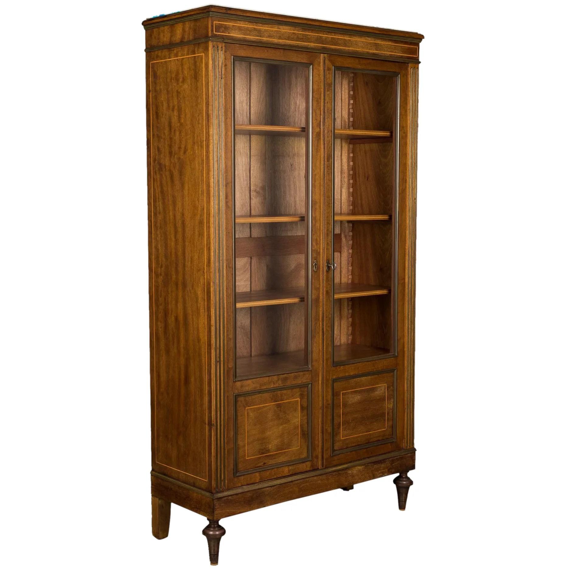French Louis Xvi Style Bookcase