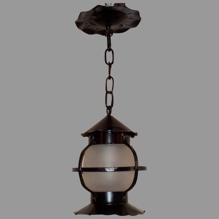 spanish revival interior or exterior pendant light fixture