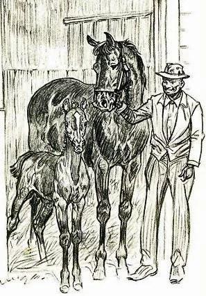 1956 Buckle Horse Paul Brown Equestrian Art Rare 1st