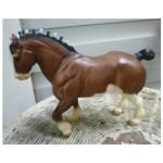 Vintage Highland Clydesdale Stallion Breyer Horse Mold 80 Chez Marianne Ruby Lane