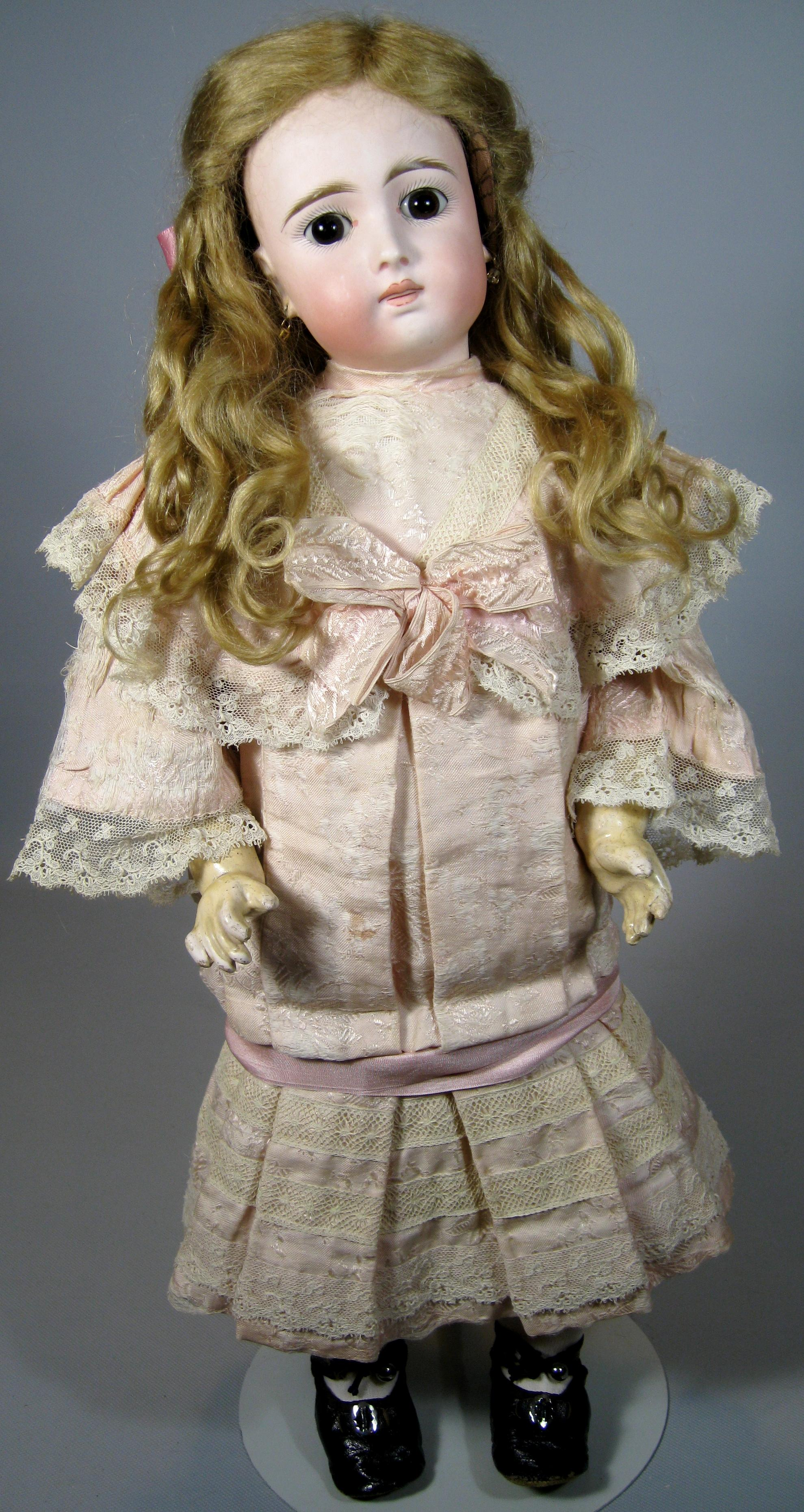 Antique French Face Belton 137 Mold German Doll Gorgeous
