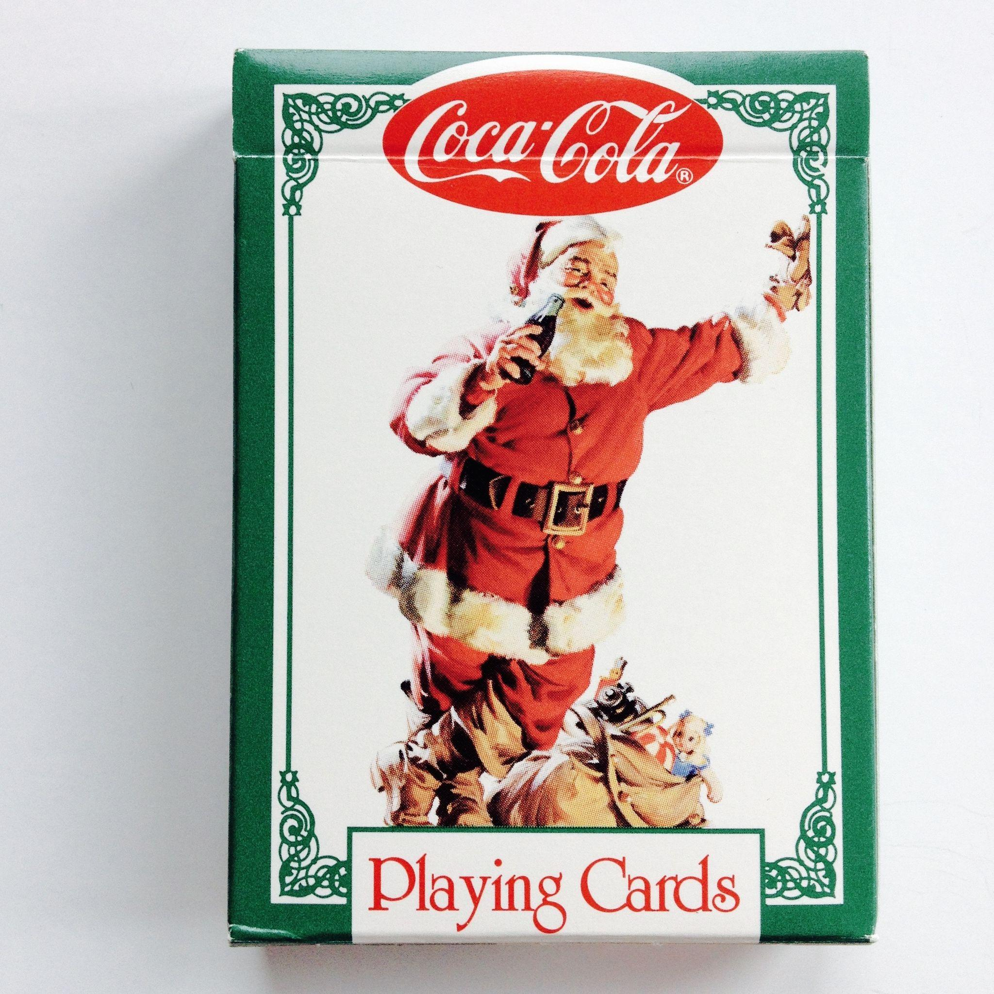 Coca Cola Christmas Nostalgia Double Deck Playing Cards