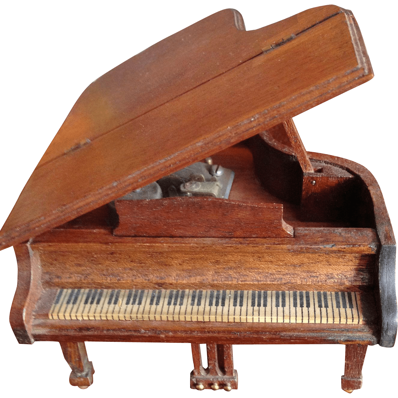 Miniature Grand Piano Music Box From Antiquefreak On Ruby Lane
