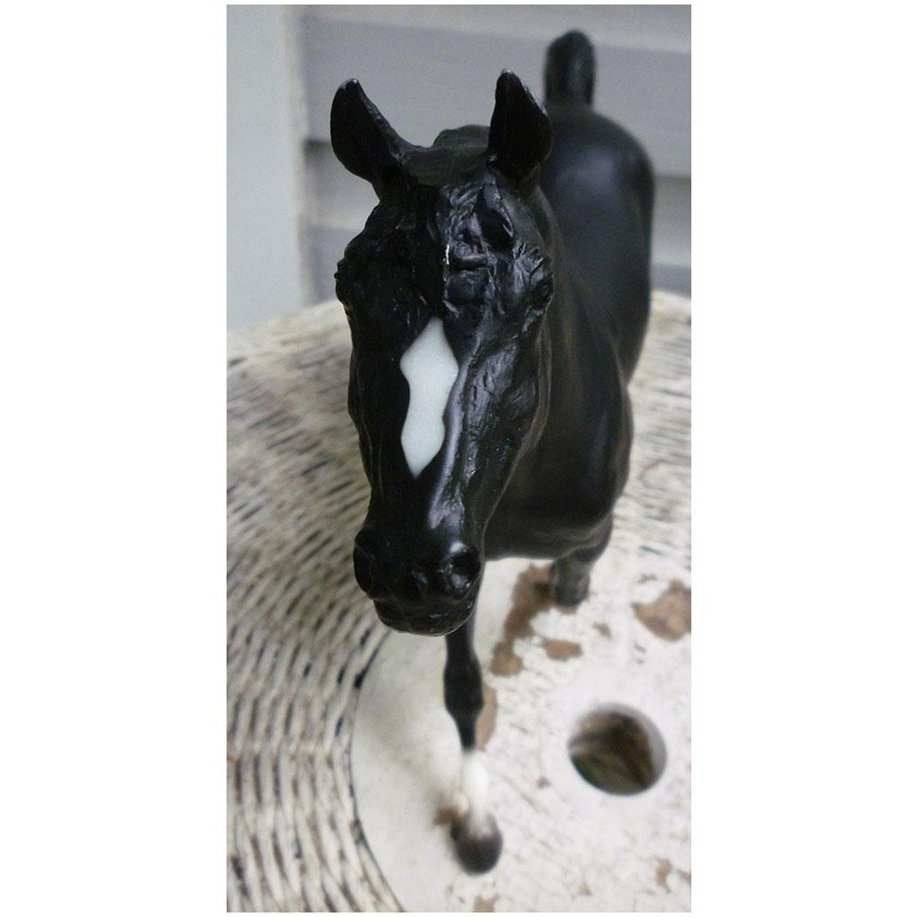 Vintage Black Beauty Morganglanz Breyer Horse Mold 59