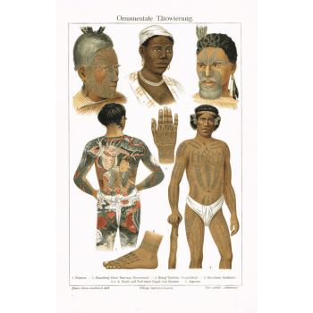 Tattoos Chromo Lithographs