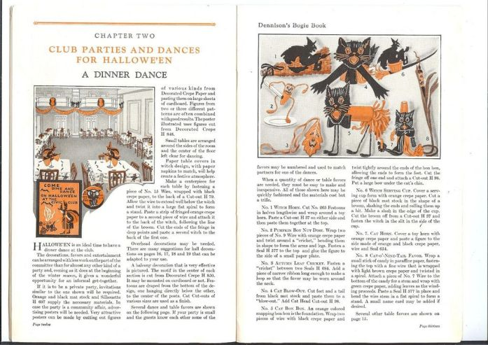 Resultado de imagen para Dennison's Bogie Book for Halloween
