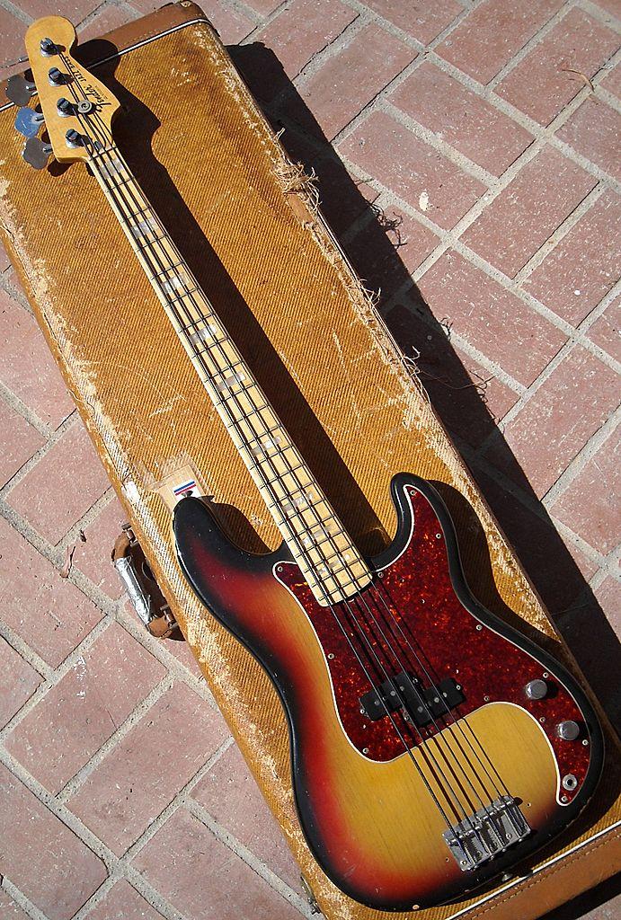 1972 Fender Precision Bass W Fender Jazz Neck Harolds