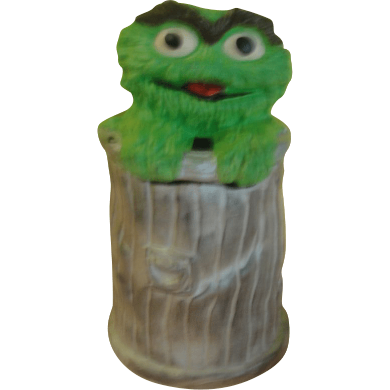 California Original Oscar The Grouch Muppets 972 Cookie