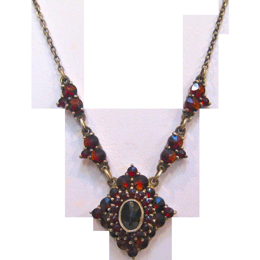 14k Eternity Circle Necklaces