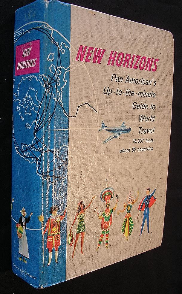 Vintage 1956 Pan American New Horizons World Travel