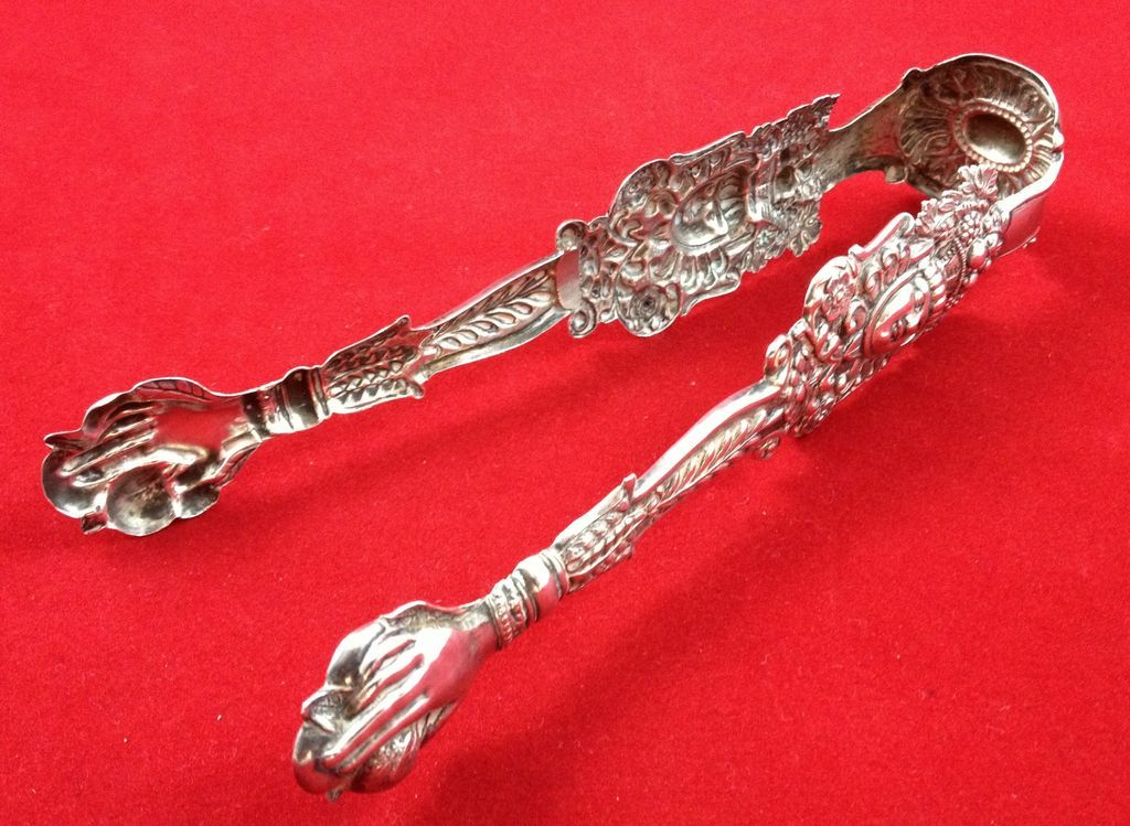 Highly Unusual And Old German Solid Silver Nips From Sterlingisland On Ruby Lane