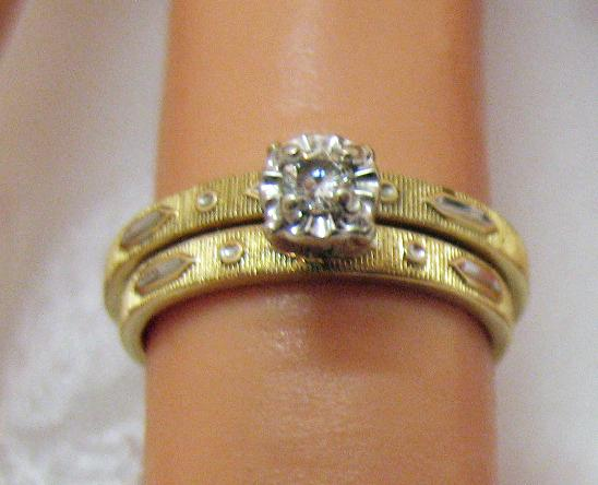 50 Off Gorgeous Vintage 1960s 14K Gold Diamond Wedding