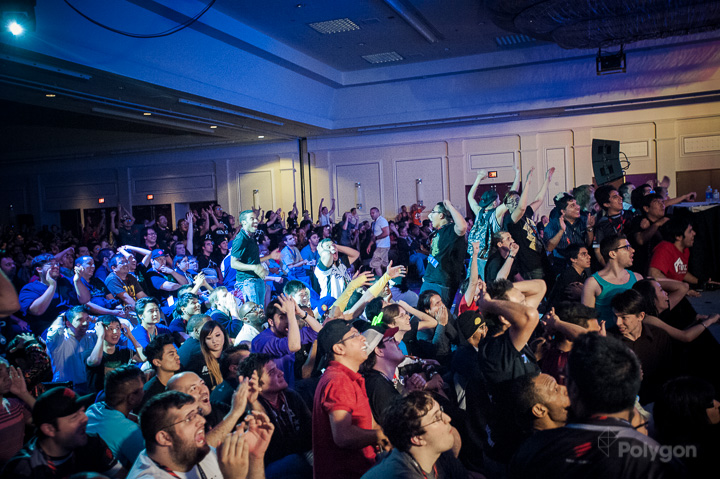 Image result for fighting game community crowd