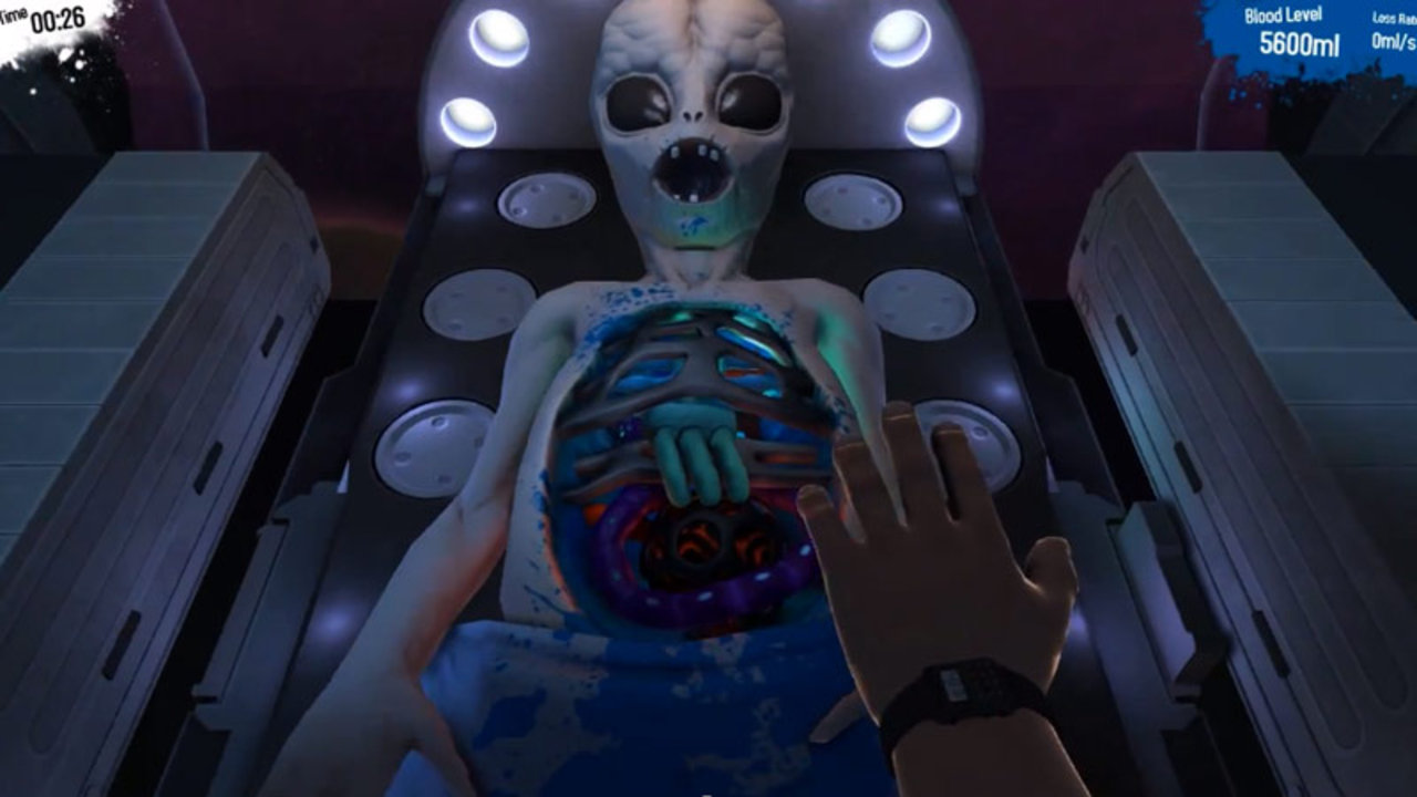 Surgeon Simulator 2013s Hidden Space Surgery Secret
