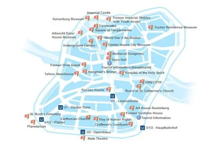 nuremberg tourist attractions map » Another Maps [Get Maps on HD ...
