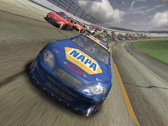 Screens: NASCAR Thunder 2004 - PS2 (2 of 6)