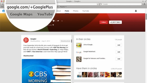 custom url Google+ starts offering custom URLs to accounts that are 30+ days old, have 10+ followers and a profile photo
