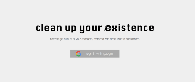 Delete yourself from the internet by pressing this button
