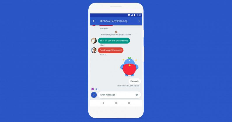 Google Is Fixing Sms On Android With An Imessage Like Experience