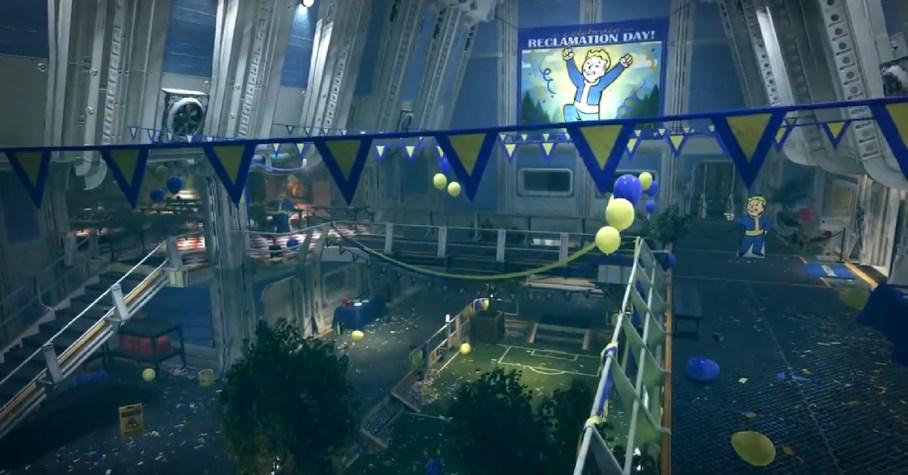 Resultado de imagen para fallout 4 introduction vault 76